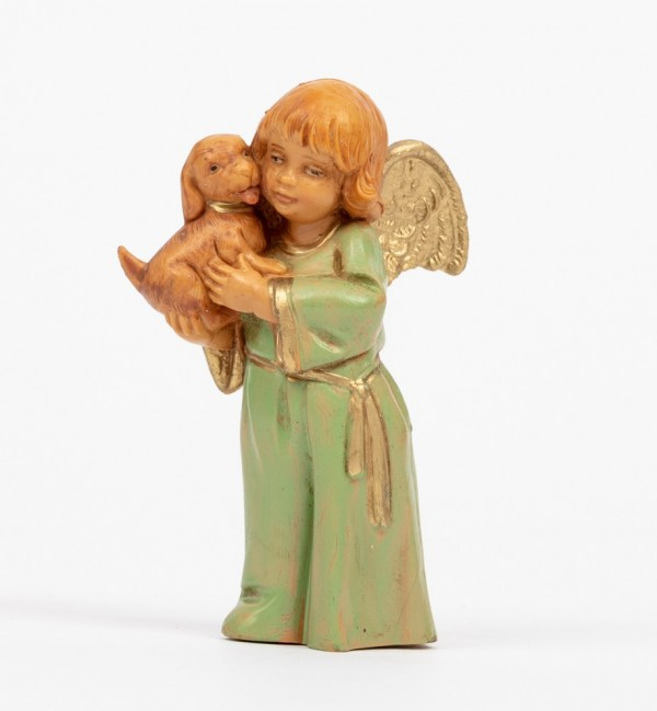 Angel with dog (781) 7,5 cm.
