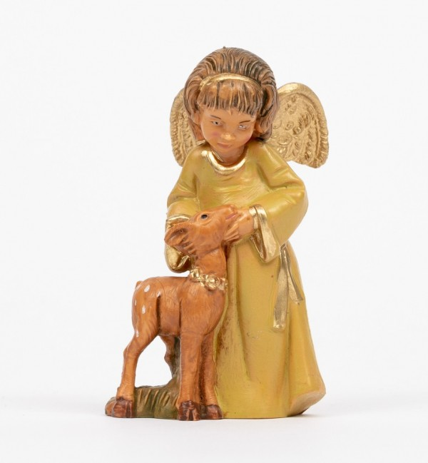 Angel with deer (784) 7,5 cm.