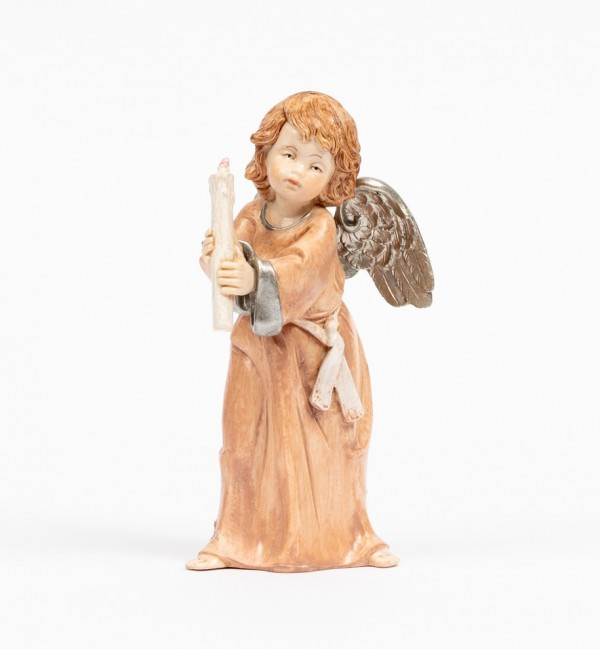 Angel with candle (836) porcelain type 15 cm.