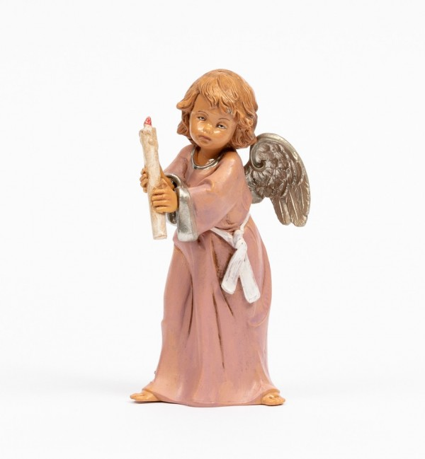 Angel with candle (836) 15 cm.