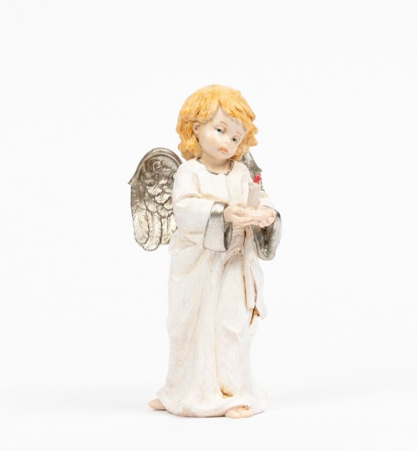 Angel with candle (837) porcelain type 15 cm.