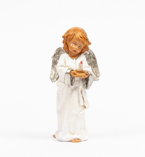 Angel with candle (837) 15 cm.