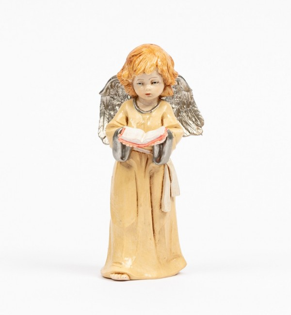 Angel with book (838) porcelain type 15 cm.