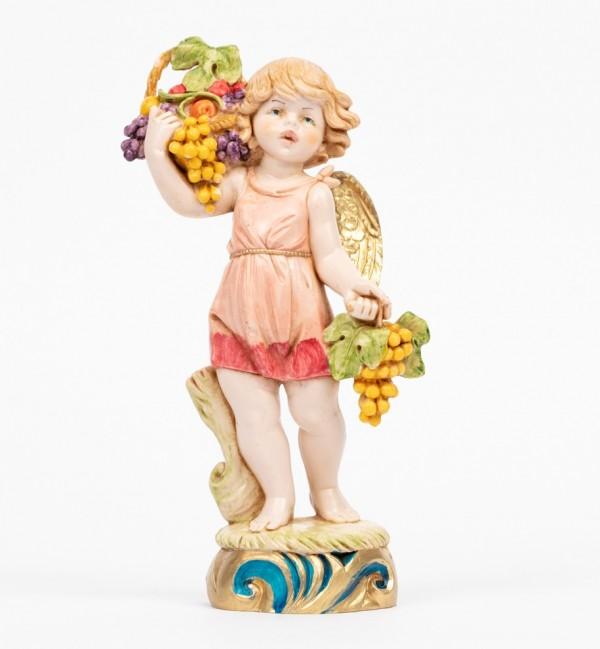 Angel autumn (862) porcelain type 17 cm.
