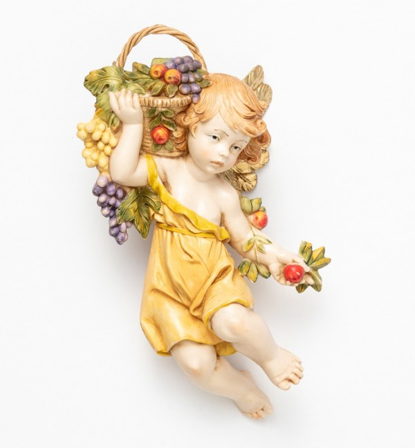Angel autumn (866) porcelain type 17 cm.