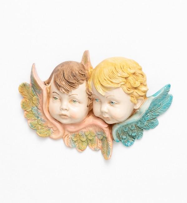 Angel heads (877) porcelain type 12x17 cm.