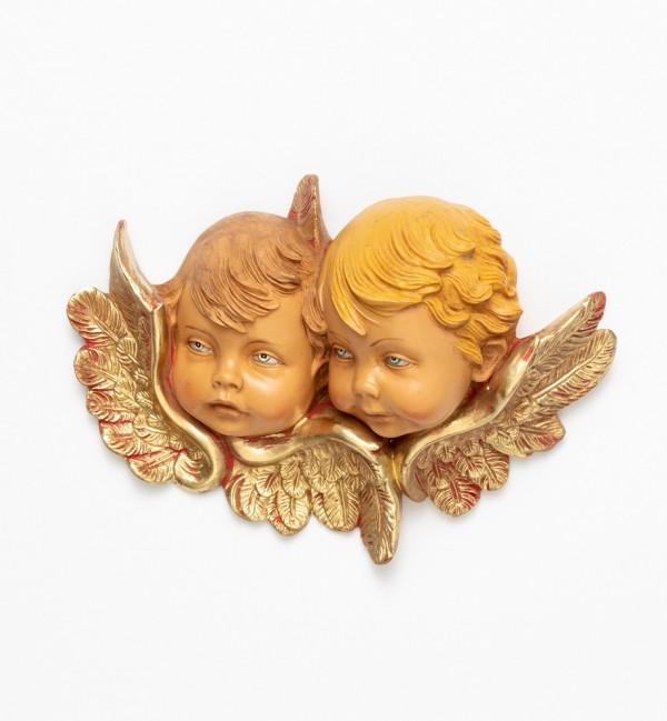 Angel heads (877) 12x17 cm.