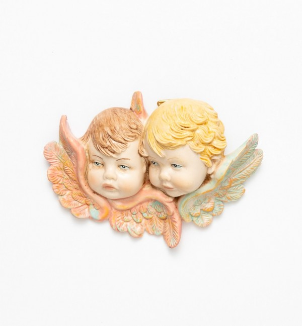 Angel heads (878) porcelain type 8x11 cm.