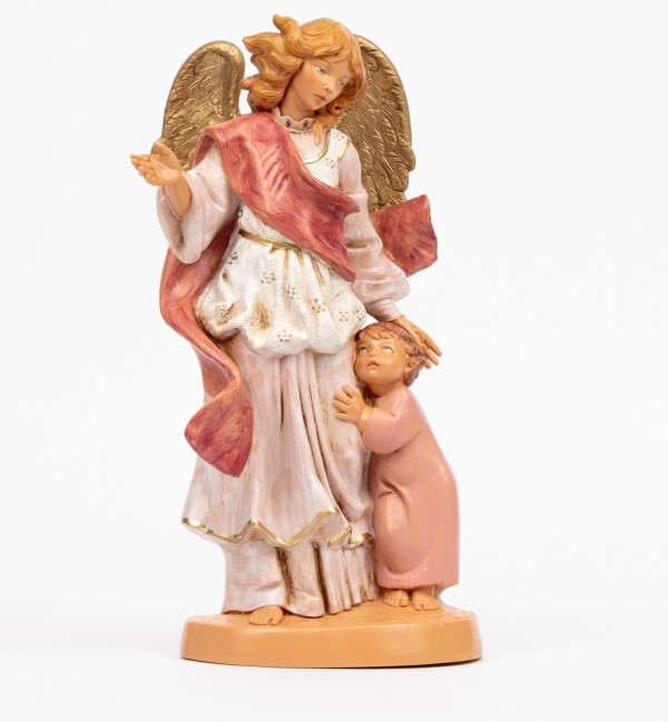 Guardian angel with girl (880R) 31 cm.