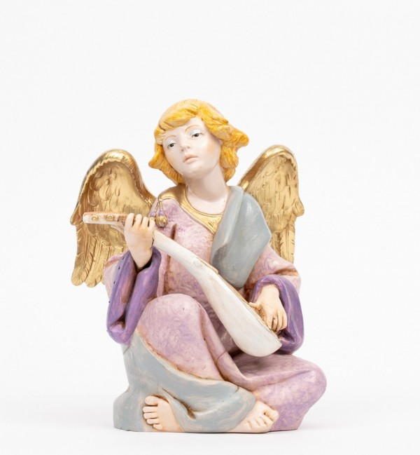 Angel with mandolin (957) porcelain type 21 cm.