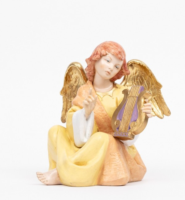 Angel with lyre (958) porcelain type 21 cm.