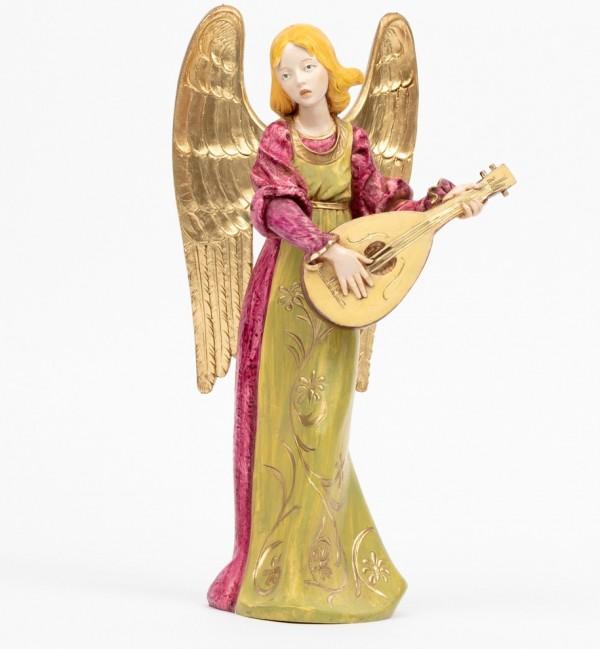 Angel with mandolin (967) porcelain type 30 cm.