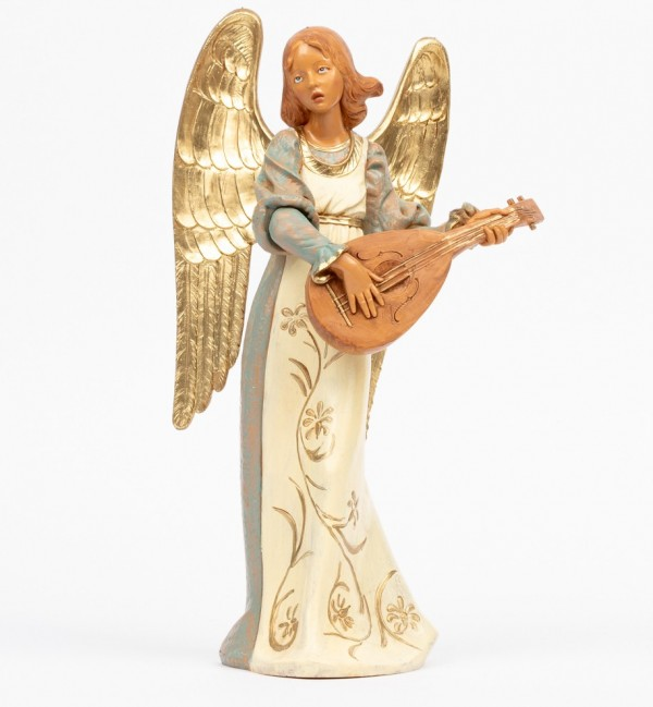 Angel with mandolin (967) 30 cm.