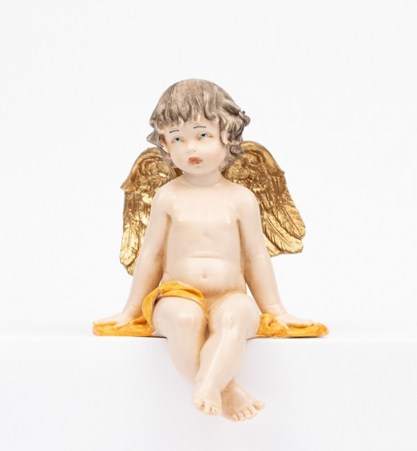 Sitting angel (978) porcelain type 12 cm.