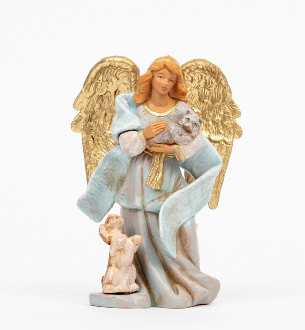 Angel with animals (1087) 11 cm.