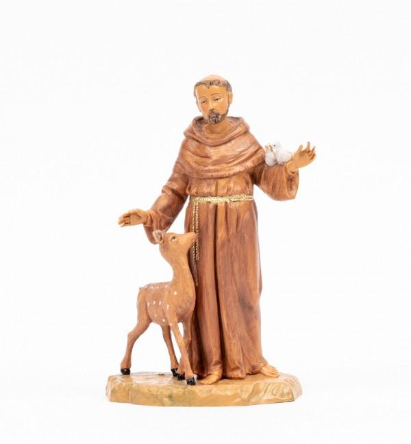 Saint Francis (1114) 18 cm.