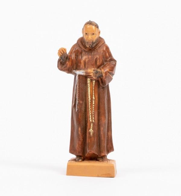 Padre Pio (1208) 7 cm.