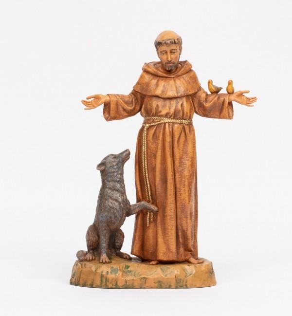 Saint Francis (1314) 40 cm.