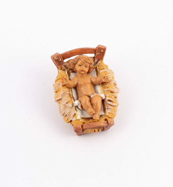 Child and crib for creche 9,5 cm.