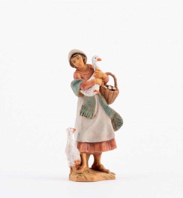 Shepherdess (910) for creche 9,5 cm.
