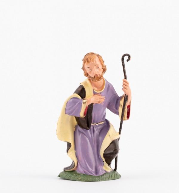 Saint Joseph for creche traditional colours 10 cm.