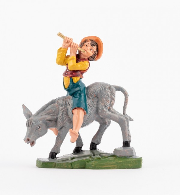 Shepherd (287) for creche traditional colours 10 cm.
