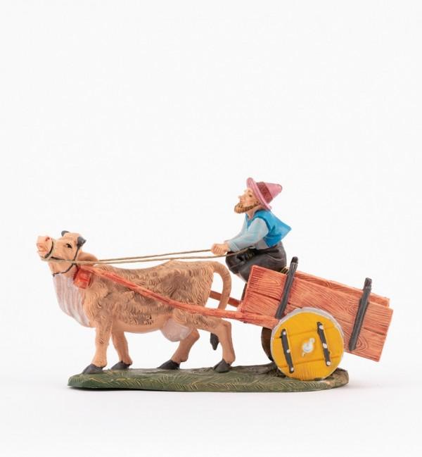 Shepherd (292) for creche traditional colours 10 cm.