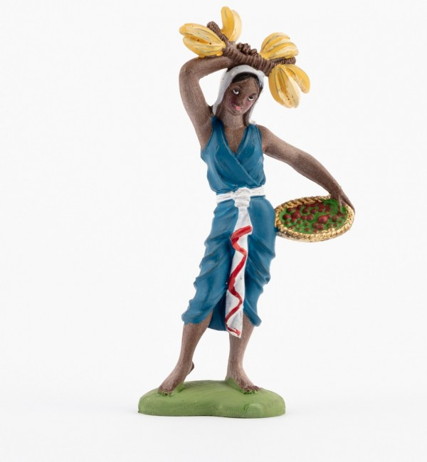 Shepherdess (117) for creche traditional colours 10 cm.