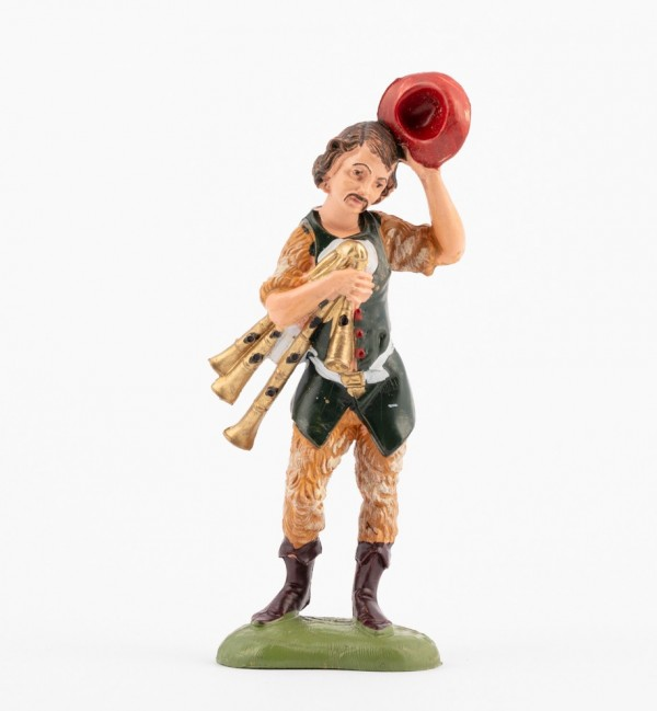Shepherd (119) for creche traditional colours 10 cm.