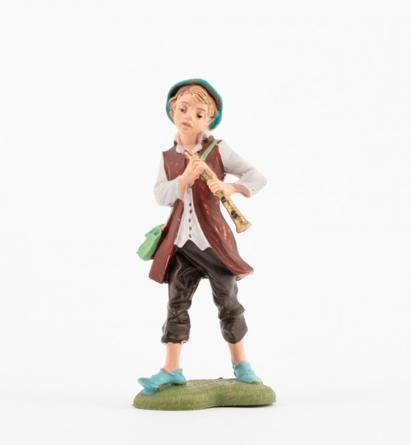 Shepherd (143) for creche traditional colours 10 cm.