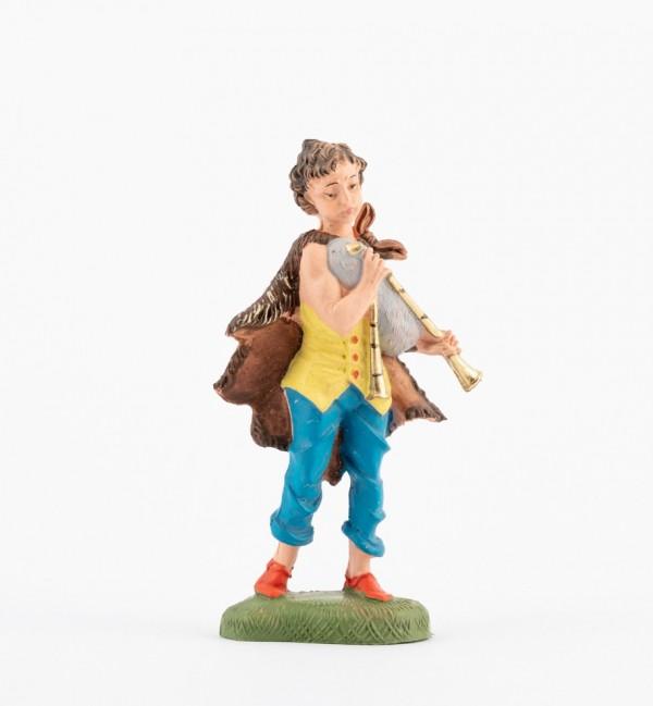 Shepherd (162) for creche traditional colours 10 cm.