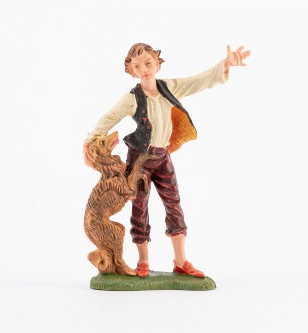 Shepherd (191) for creche traditional colours 10 cm.