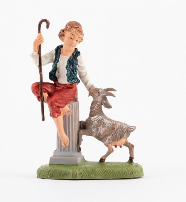 Shepherd (203) for creche traditional colours 10 cm.