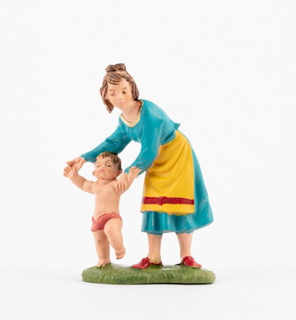 Shepherdess (208) for creche traditional colours 10 cm.