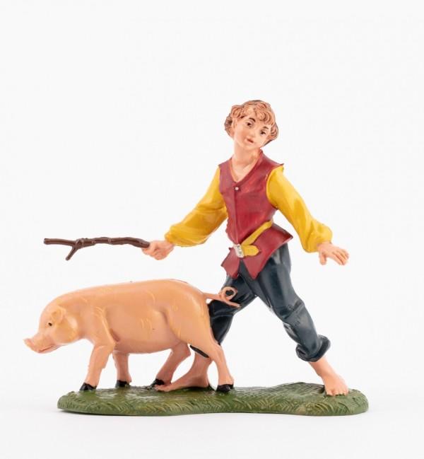 Shepherd (223) for creche traditional colours 10 cm.