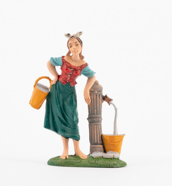 Shepherdess (230) for creche traditional colours 10 cm.