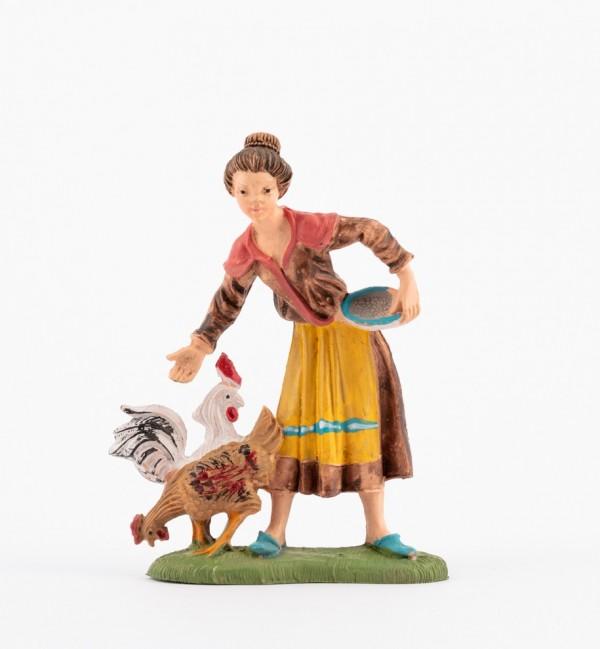 Shepherdess (231) for creche traditional colours 10 cm.
