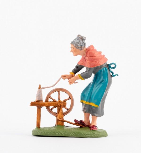 Shepherdess (233) for creche traditional colours 10 cm.
