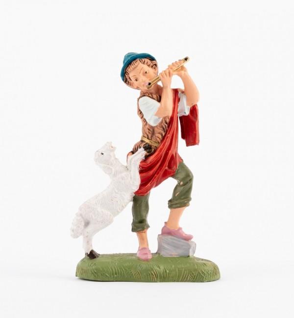 Shepherd (241) for creche traditional colours 10 cm.