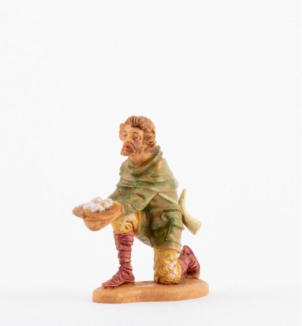 Shepherd (136) for creche 10 cm.