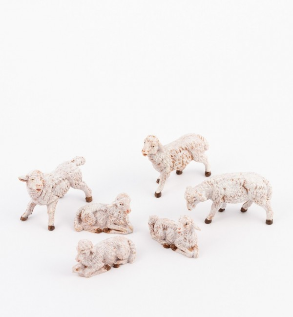 Sheep for creche 9,5, 10 and 11 cm.