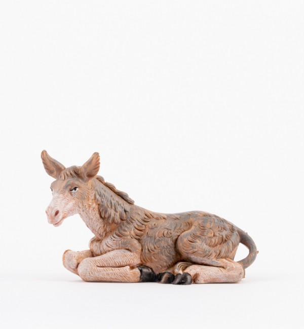 Donkey for creche 9,5 cm. and 11 cm