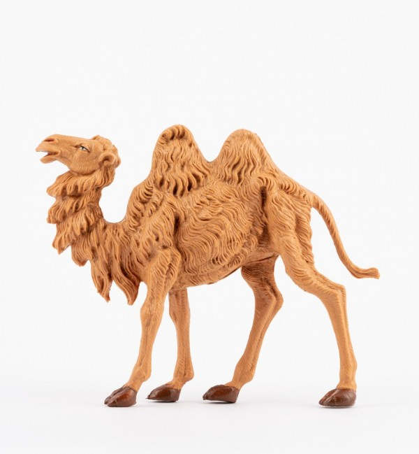 Standing camel for creche 12 cm.