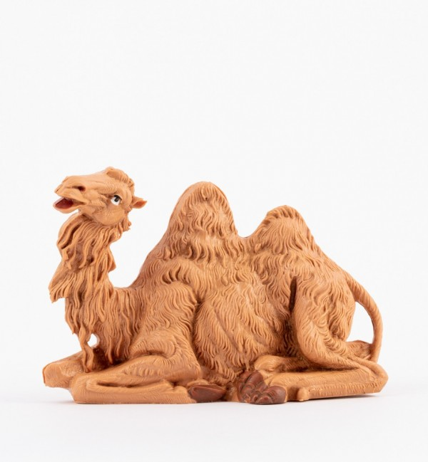 Sitting camel for creche 12 cm.