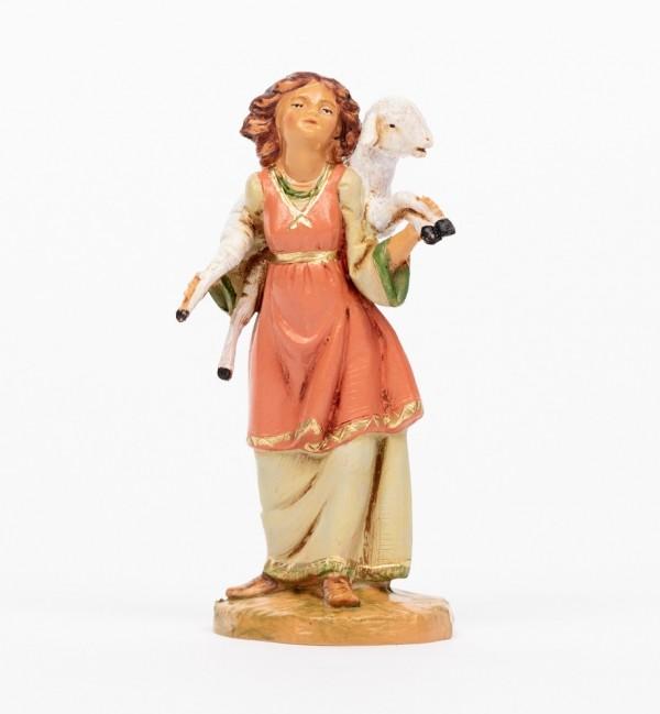 Shepherdess (702) for creche 12 cm.