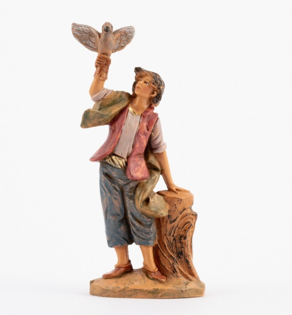Shepherd (101) for creche 12 cm.