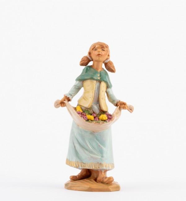 Shepherdess (115) for creche 12 cm.