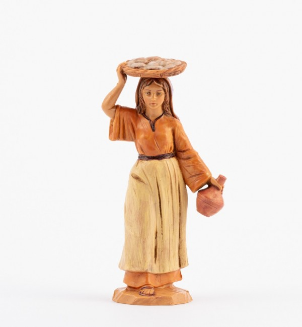 Shepherdess (118) for creche 12 cm.