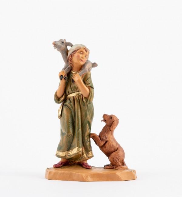 Shepherd (122) for creche 12 cm.