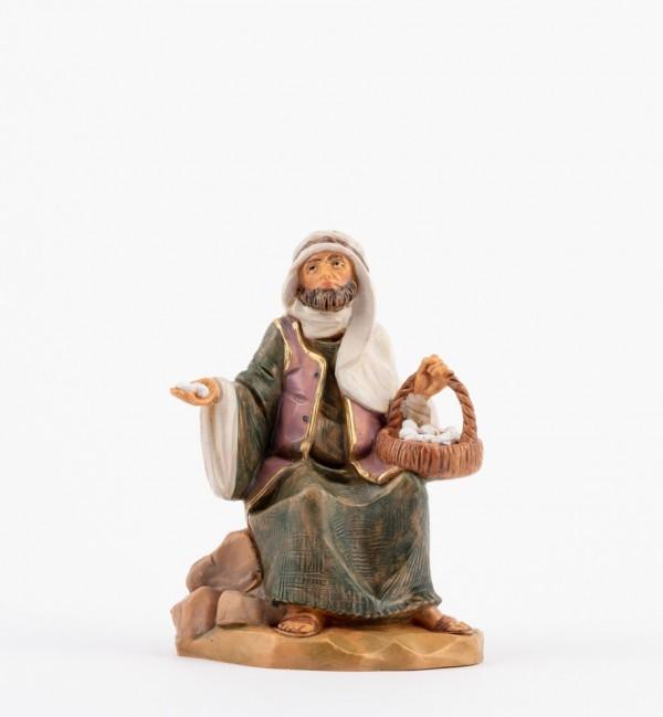 Shepherd (129) for creche 12 cm.